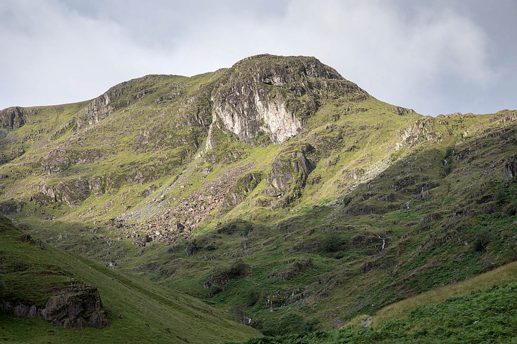 The woman intended to bivvy at the Priest's Hole, Dove Crag. Photo: Bob Smith/grough