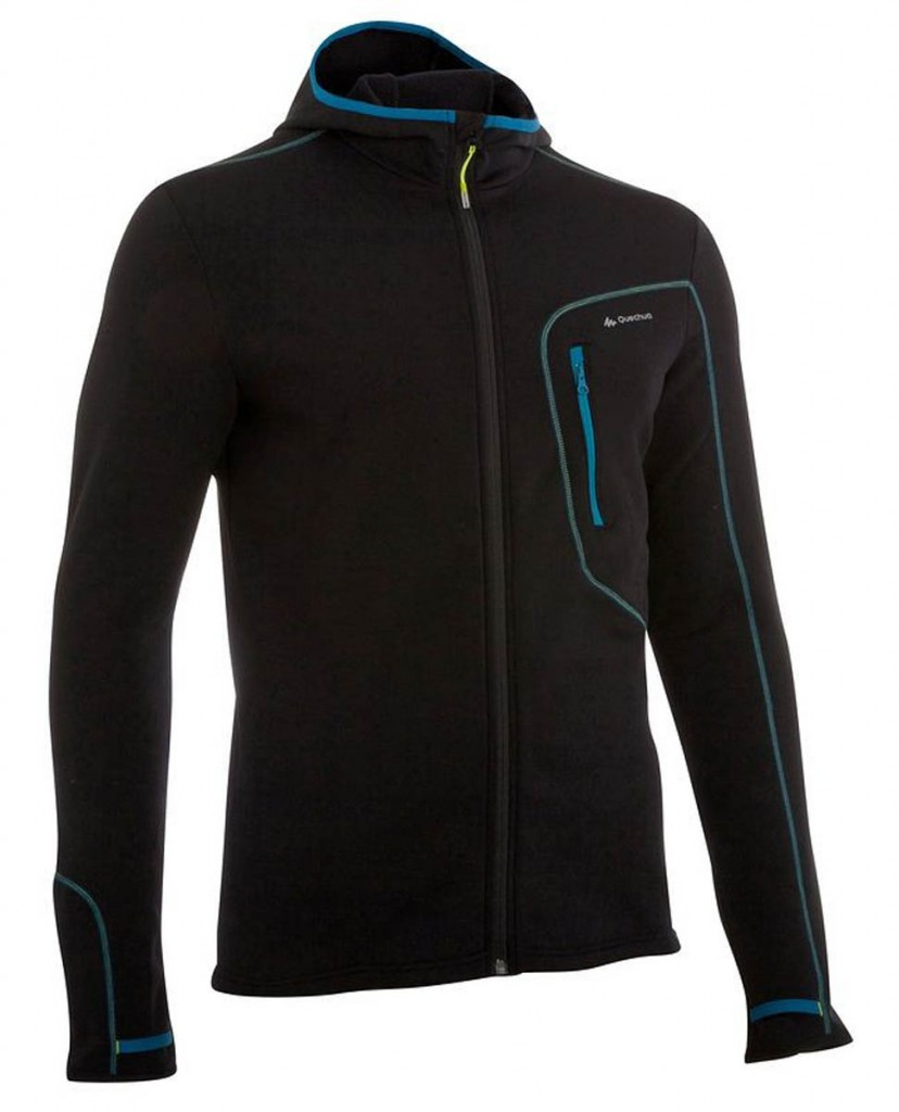 Quechua Forclaz 400 Men's Hooded Walking Jumper