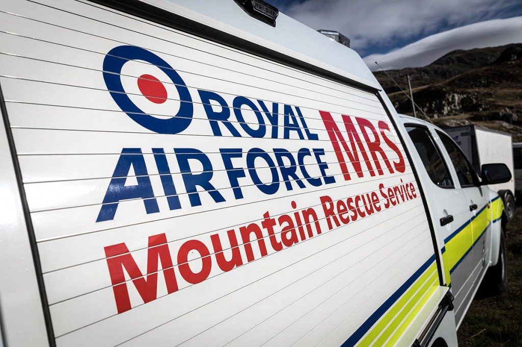 Members of the RAF Mountain Rescue Service found the man's body. Photo: Bob Smith/grough