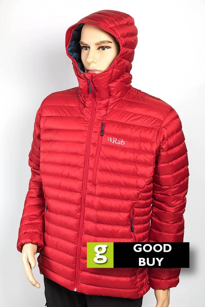 Rab Microlight Alpine Jacket. Photo: Bob Smith/grough