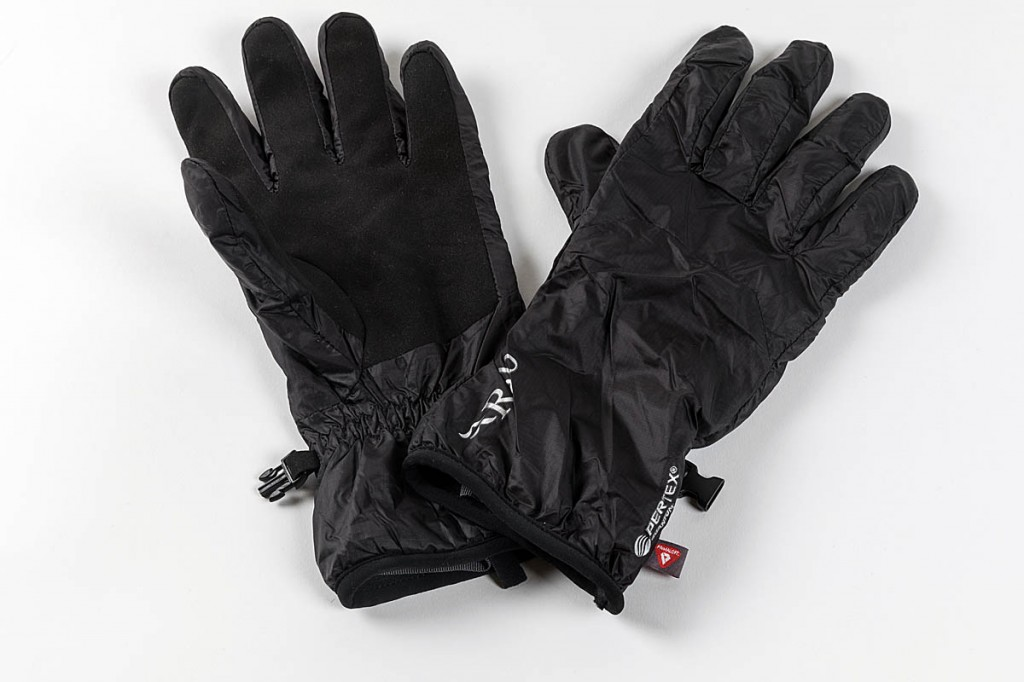 Rab Xenon Gloves. Photo: Bob Smith/grough