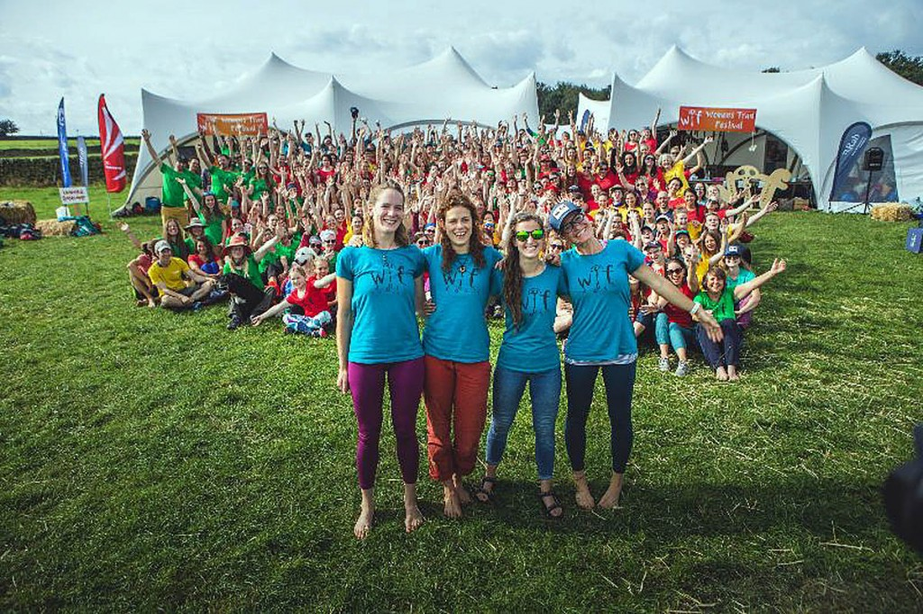 The film tells the story behind the Women's Trad Festival
