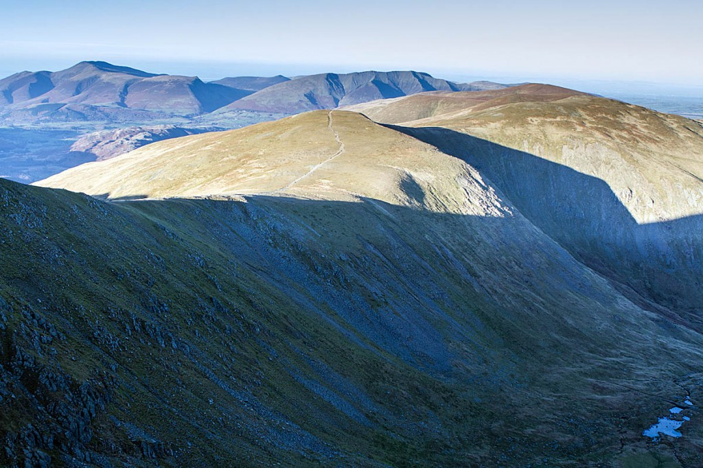 The pair missed their turning down the Sticks Pass from the Helvellyn range. Photo: Bob Smith/grough