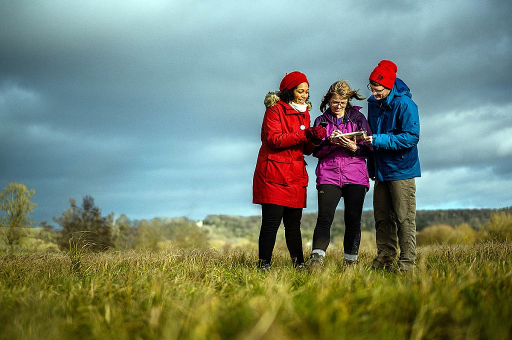 The project involved thousands of 'citizen geographers'. Photo: Chris Parkes