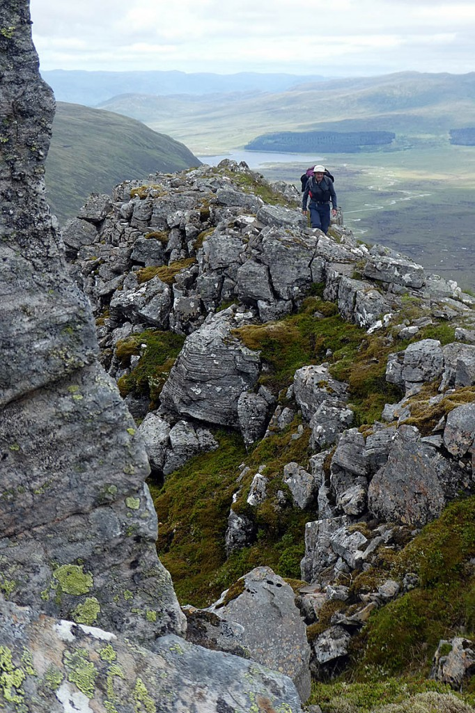 The crossing is used by walkers heading for Ben Alder. Photo: Andy Carden