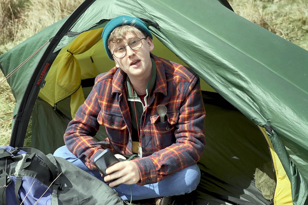 Jared Rowan, Littlest Chicken, learns how to wild camp responsibly