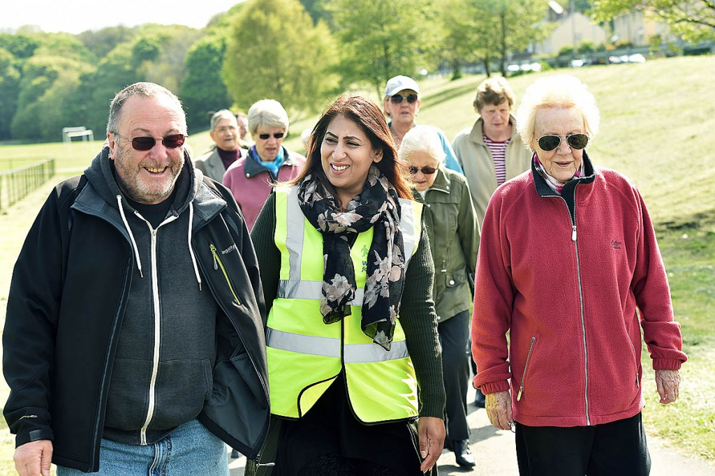 A Walking for Health group in action. Photo: Paula Solloway