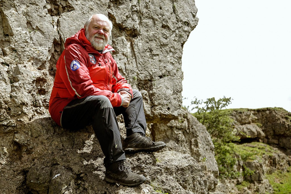 Ray Griffiths, who has been elected president of Mountain Rescue England and Wales