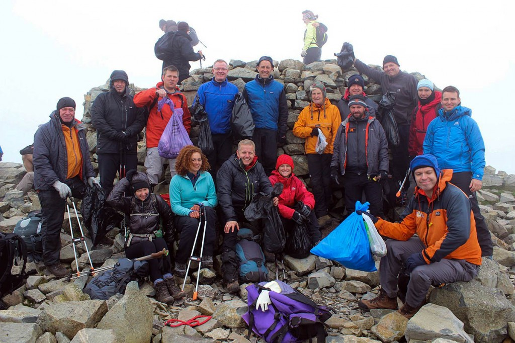 Scafell Pike attracted most volunteers. Photo: The Real3 Peaks Challenge