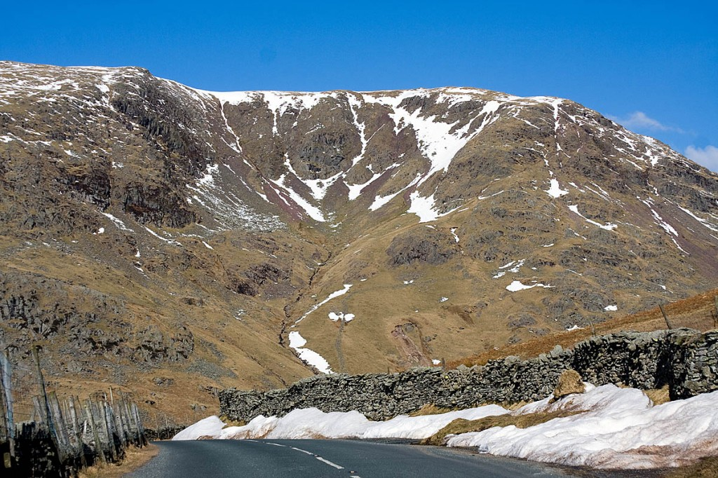 The incident happened on Red Screes above the Kirkstone Pass. Photo: Bob Smith/grough