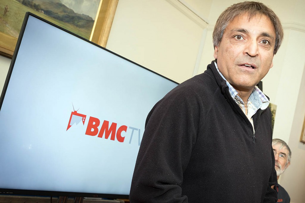 The BMC's president Rehan Siddiqui. The organisation's on-off name change provided plenty of debate during 2016. Photo: Bob Smith/grough