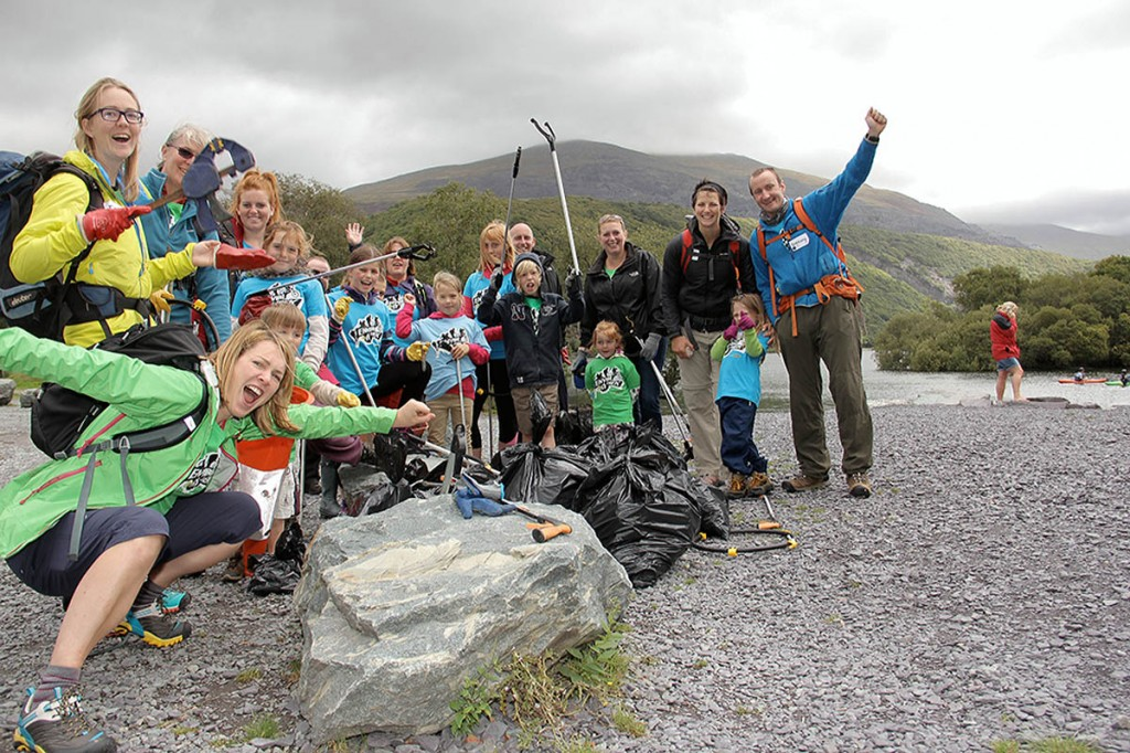 Volunteers are needed for the clean-up at Llanberis