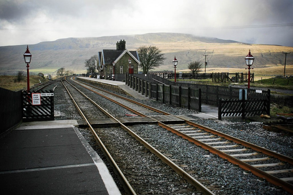 Ribblehead station, with Whernside in the background. Photo: Bob Smith/grough