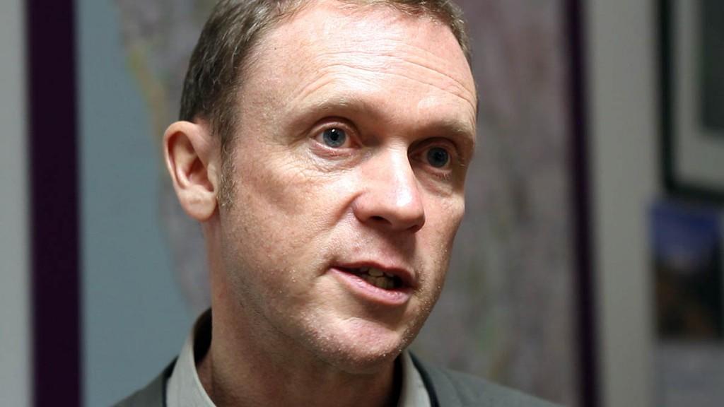 Lake District chief executive Richard Leafe
