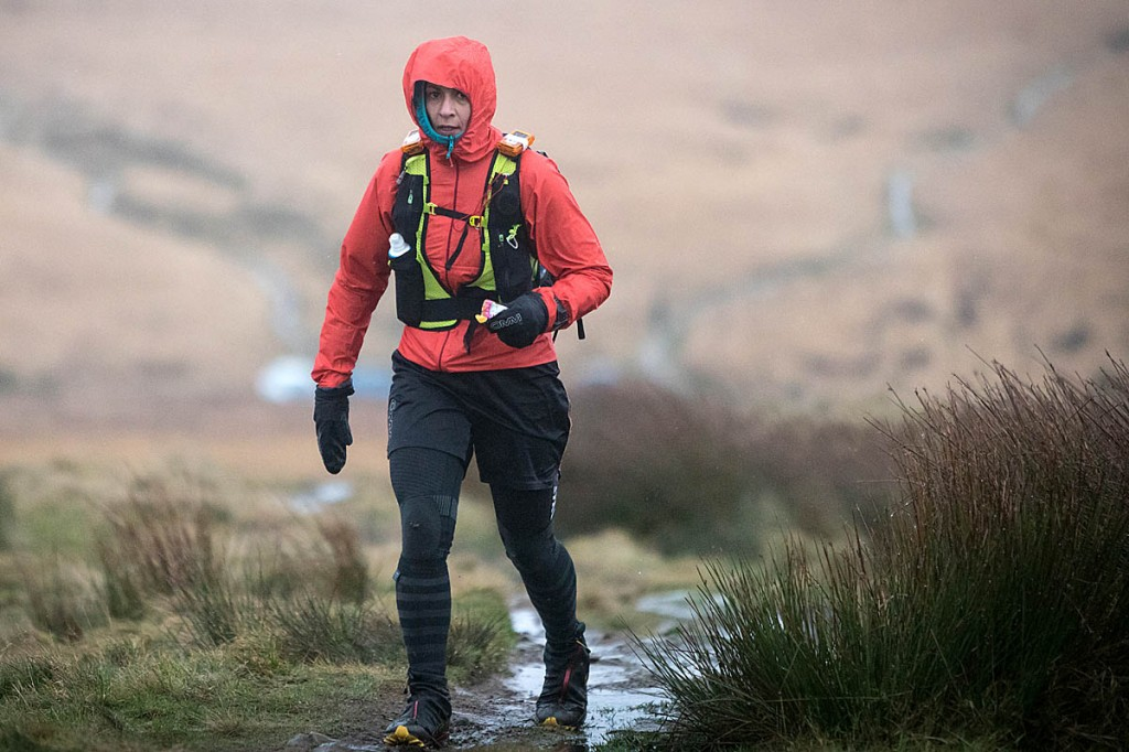 Sabrina Verjee in action during this year's Montane Spine Race. Photo: Bob Smith/grough