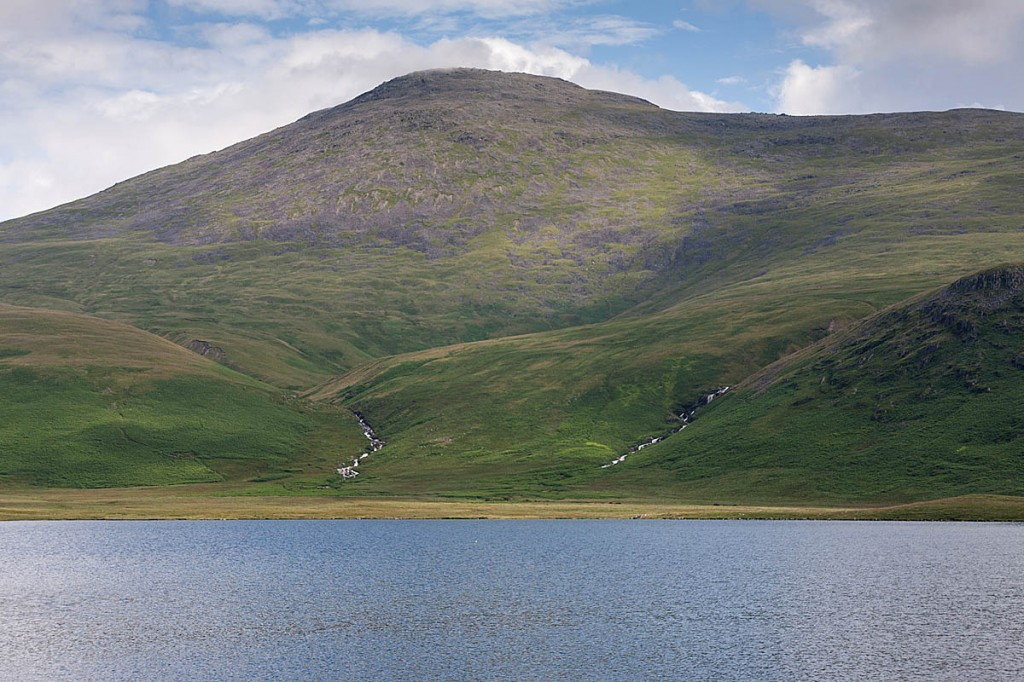 The pair were directed from Sca Fell down to Burnmoor Tarn. Photo: Bob Smith/grough