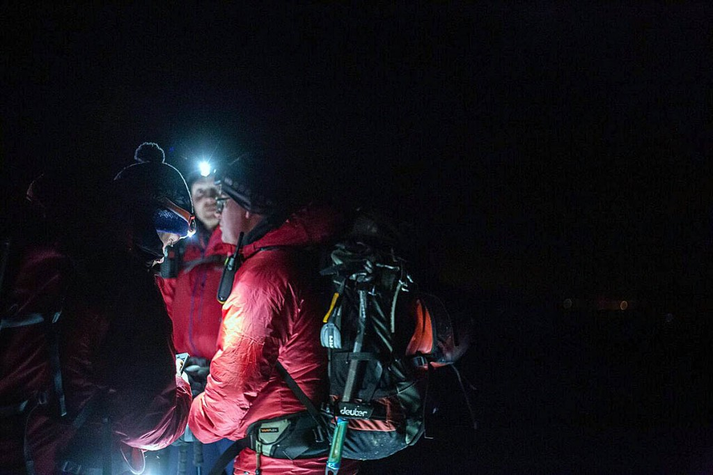Volunteer mountain rescuers are available 24 hours a day. Photo: Arran MRT