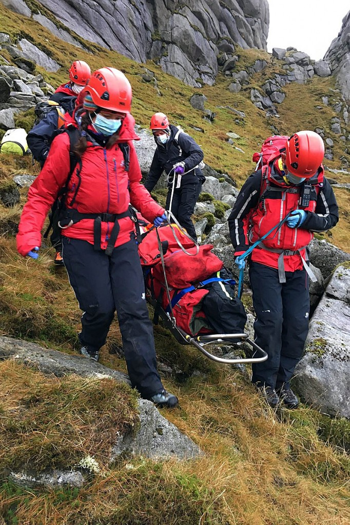 Rescuers will need to know your location. Photo: Arran MRT