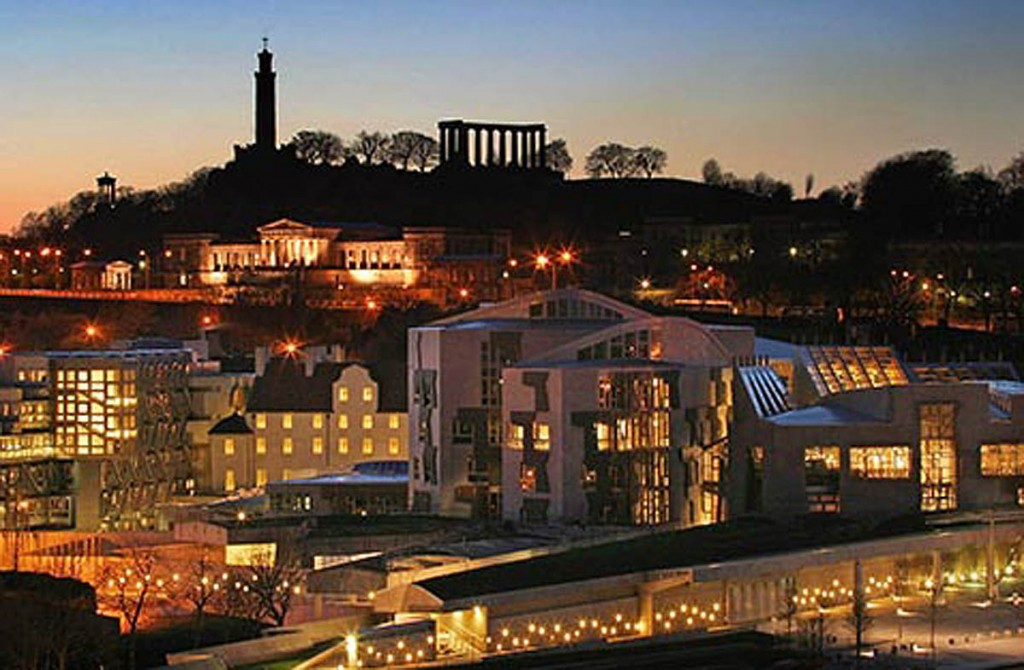 The evening reception will take place at the Scottish Parliament. Photo: Scottish Parliamentary Corporate Body