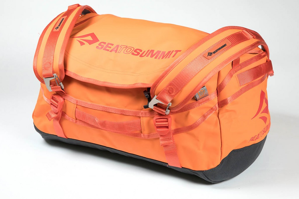 Sea to Summit 45L Duffle Bag. Photo: Bob Smith/grough
