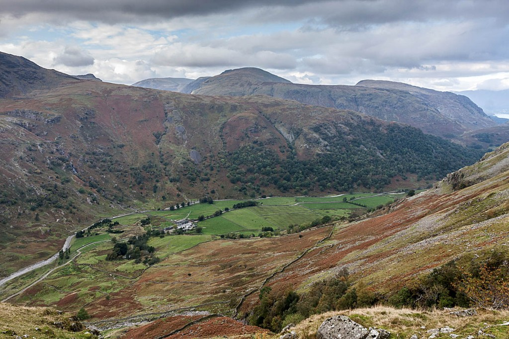 Seathwaite, Borrowdale, starting point for several walking routes. Photo: Bob Smith/grough