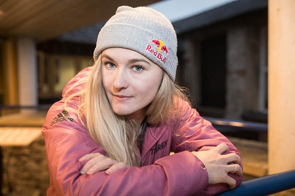 Shauna Coxsey: 'I'm the type of person who needs goals'. Photo: Bob Smith/grough