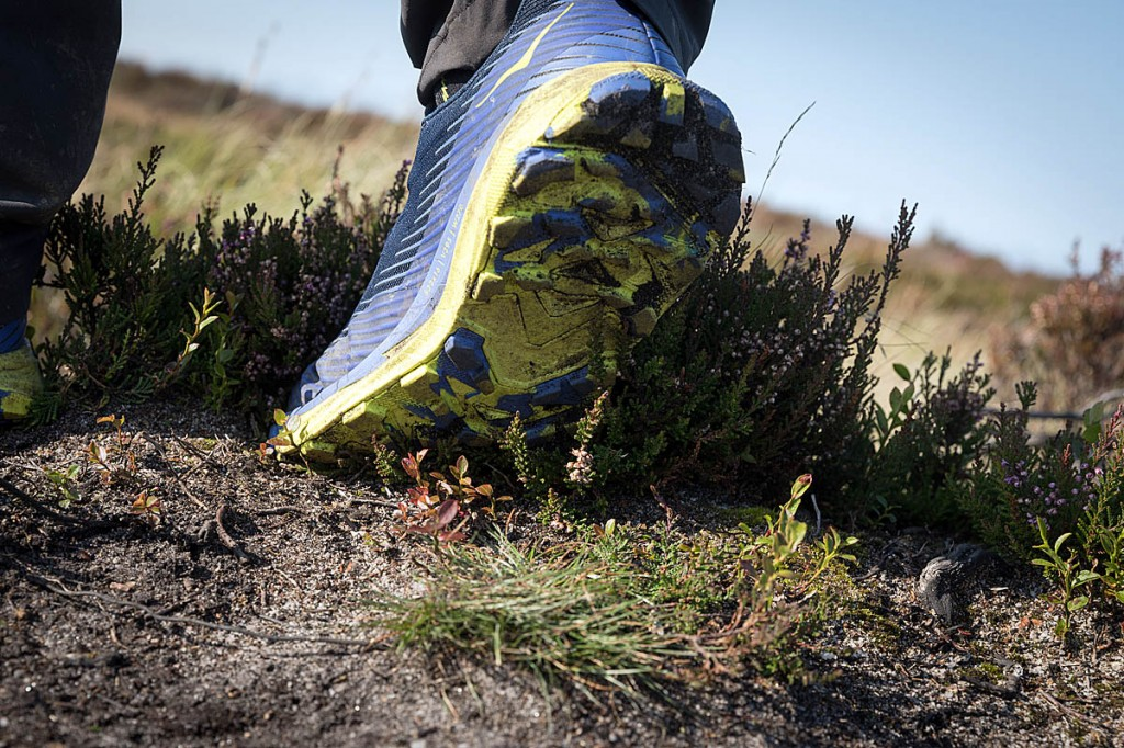 We tested the shoes on a variety of terrains and surfaces. Photo: Bob Smith/grough