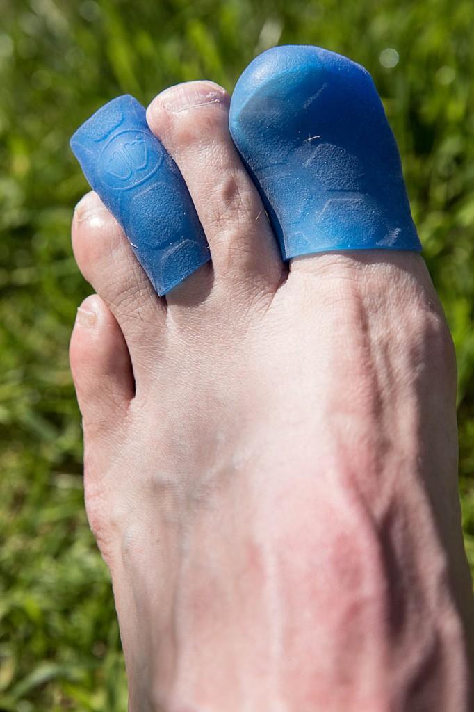 The Gel Toe Cap and Gel Toe Wrap