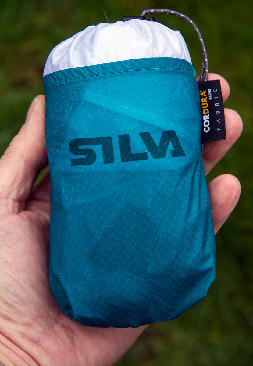 The Silva Carry Dry Backpack goes into a very small stuffsack 874a9a9437