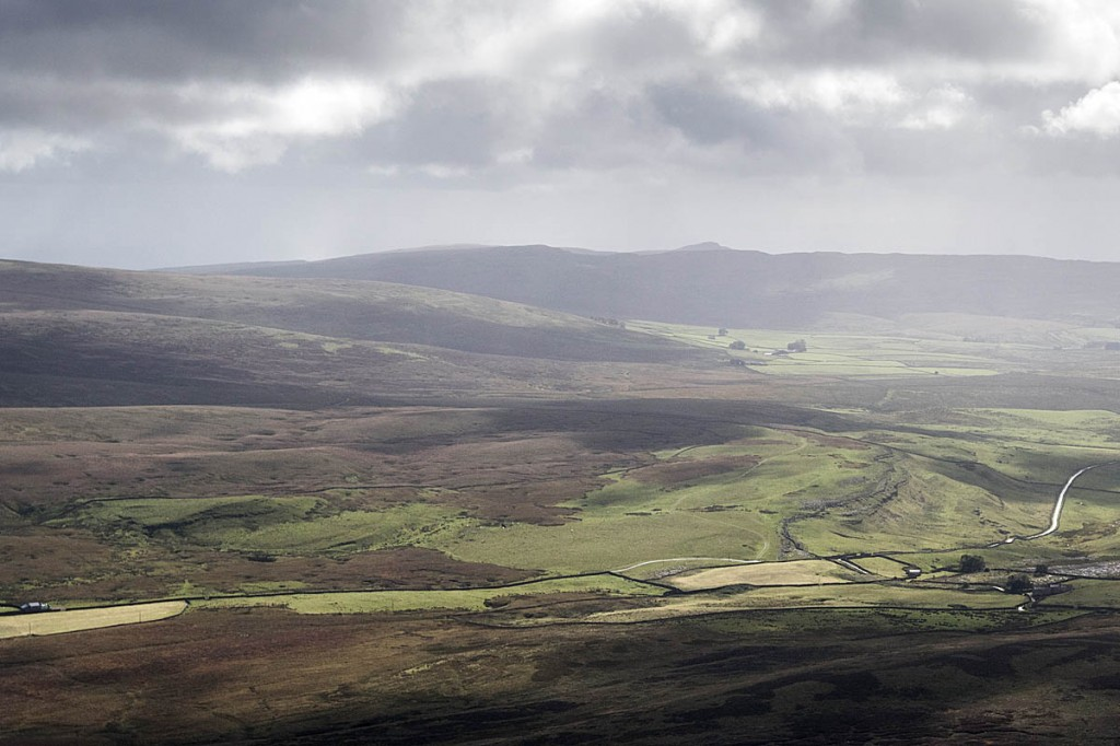 Fountains Fell, centre left, scene of the fatal caving incident. Photo: Bob Smith/grough