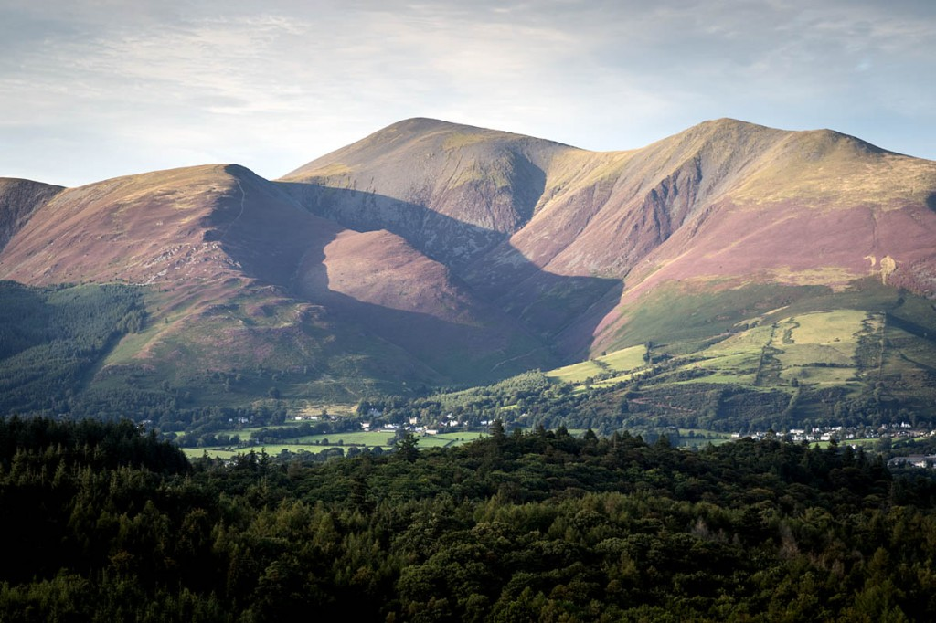 The group was caught out by darkness while walking on Skiddaw. Photo: Bob Smith/grough