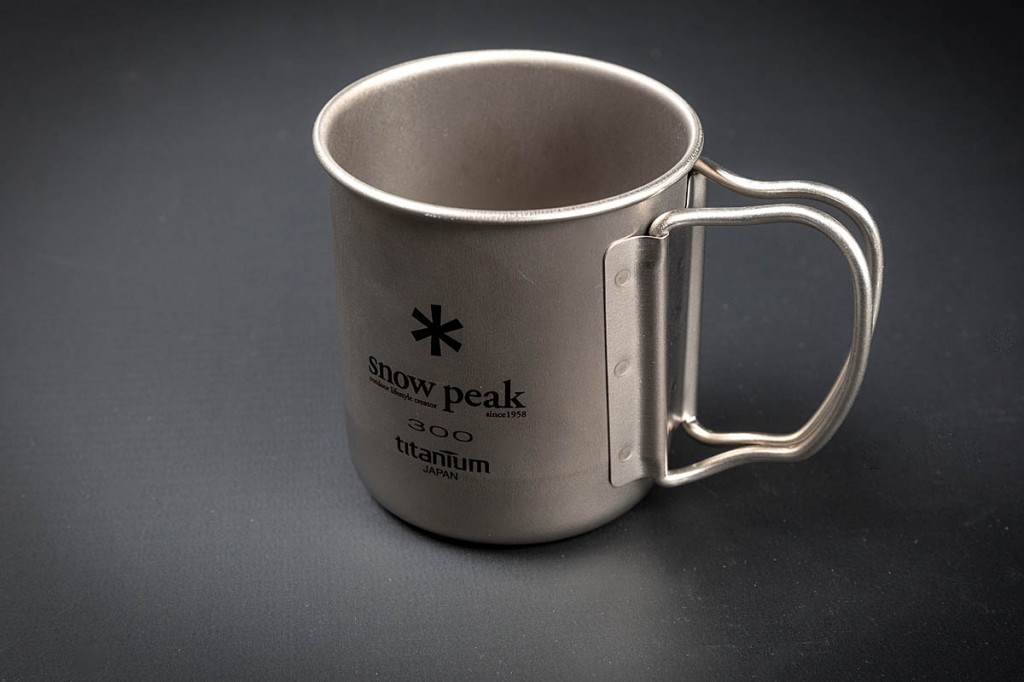 Snow Peak Titanium 300 Mug. Photo: Bob Smith/grough