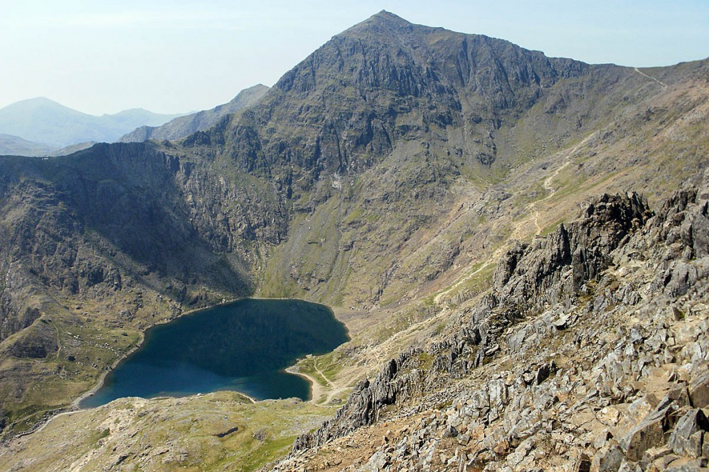 The walker fell a significant distance on Snowdon. Photo: Peter-S CC-BY-SA-2.0