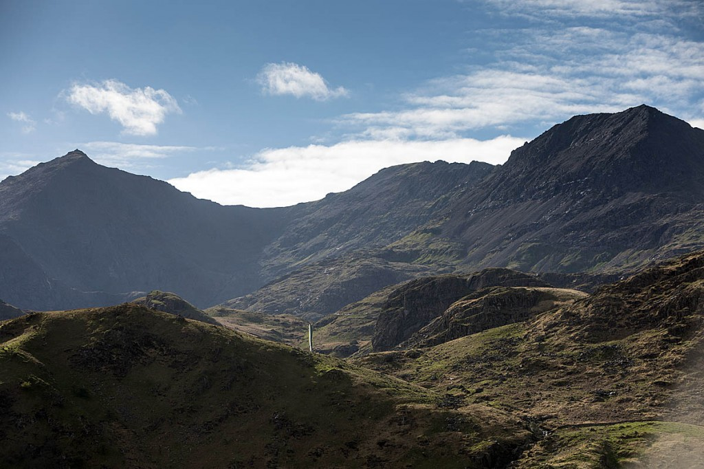 Wales's most popular mountain Snowdon is among those closed. Photo: Bob Smith/grough