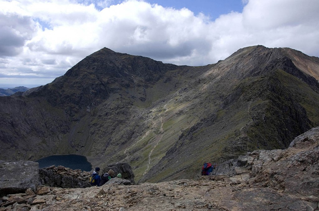 The man's body was airlifted from Snowdon. Photo: Chris March CC-BY-SA-2.0