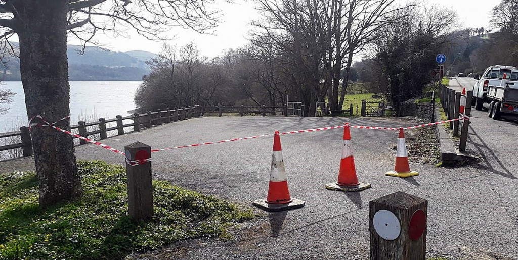 Snowdonia national park has closed it car parks. Photo: Snowdonia NPA