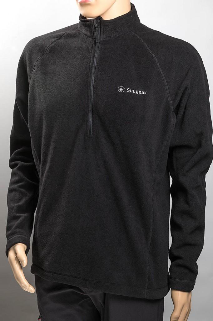 Snugpak Impact Fleece Shirt. Photo: Bob Smith/grough