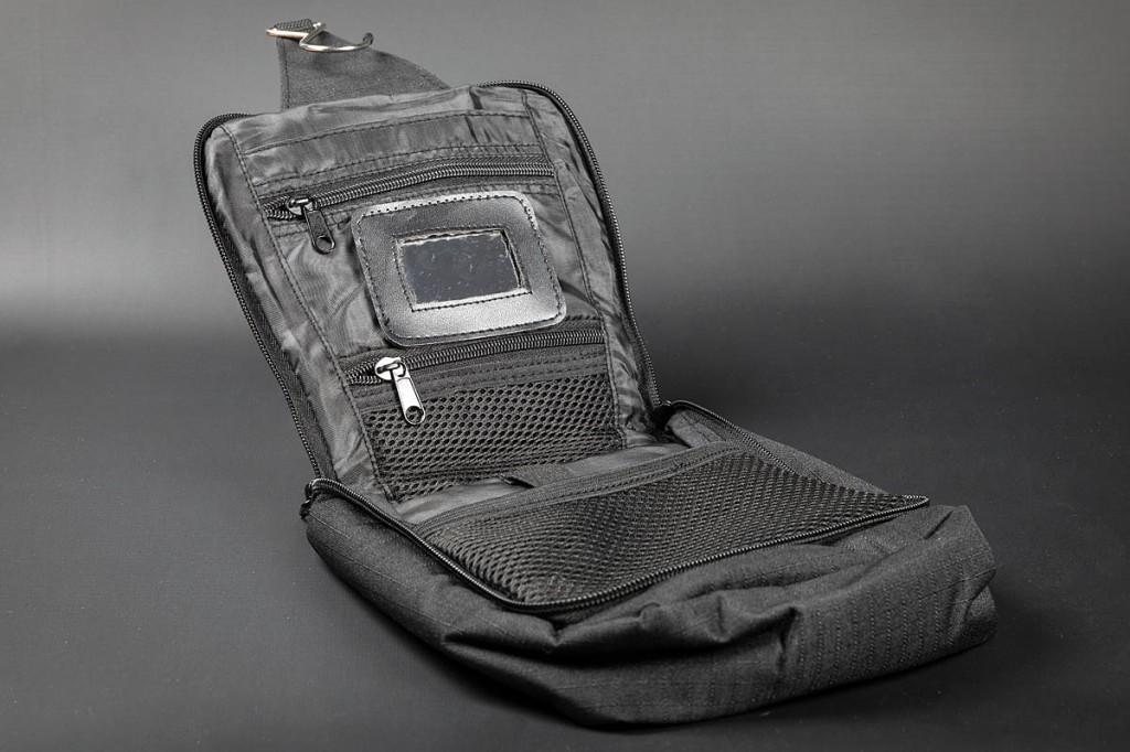 Snugpak Essential Wash Bag. Photo: Bob Smith/grough
