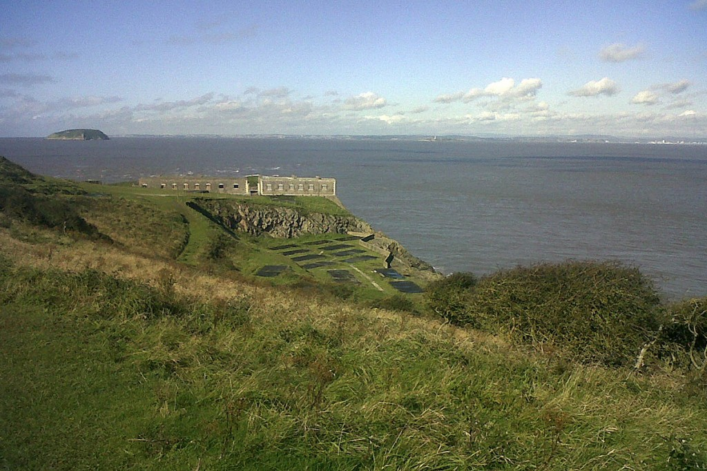 Brean Down, on the new section of the England Coast Path. Photo: Ian Clemmett/National Trust