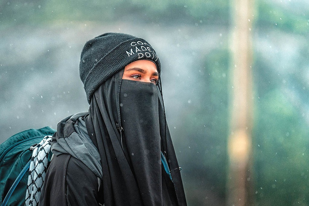 Amira Patel is encouraging Muslim women to explore the great outdoors