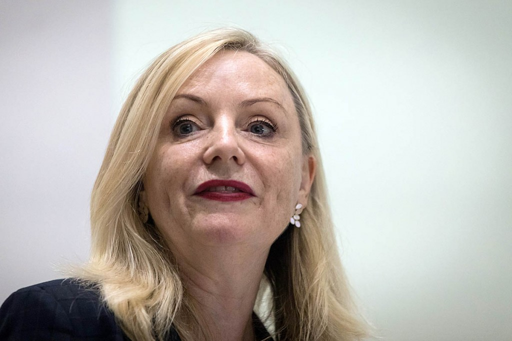 West Yorkshire mayor Tracy Brabin spoke at the launch of the South Pennines Park. Photo: Bob Smith/grough