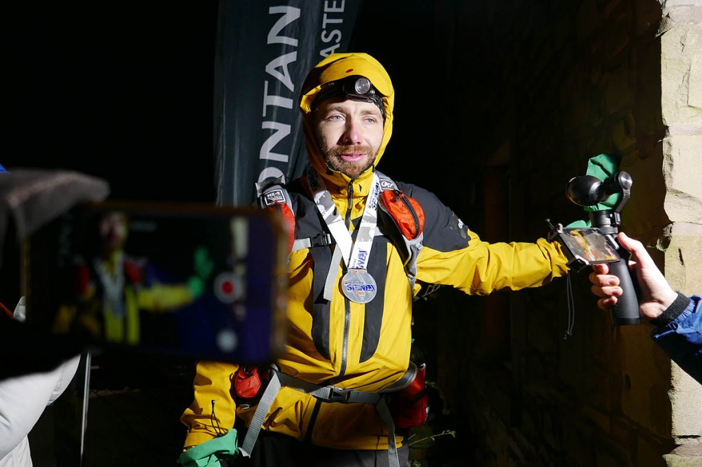 Pavel Paloncy. Photo: Nicky Lygo/Spine Race