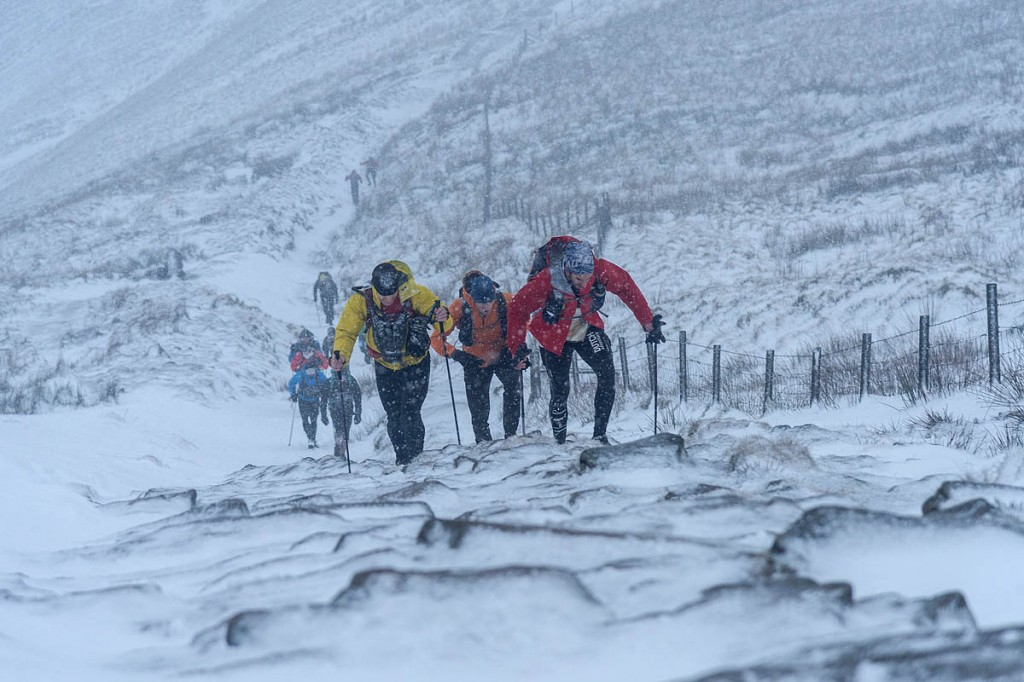 Competitors will battle winter conditions in the brutal race