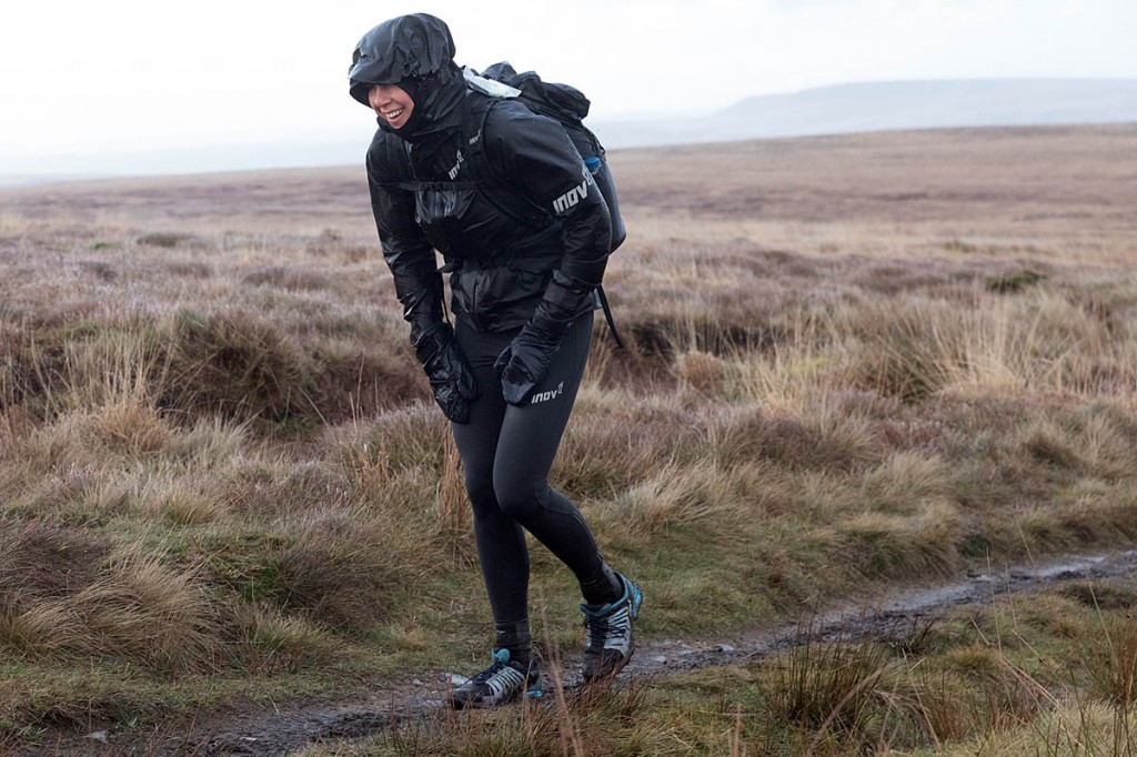 Jasmin Paris has taken the lead in the Montane Spine Race: Bob Smith/grough