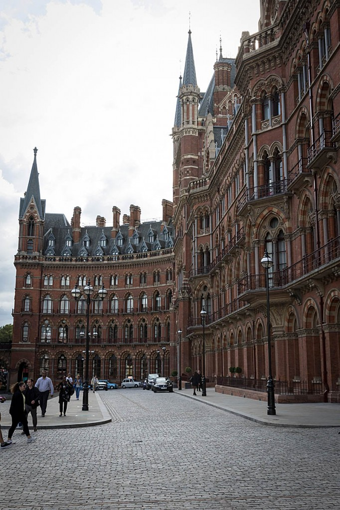 St Pancras Station, London, scene of another 'first ascent'. Photo: Bob Smith/grough