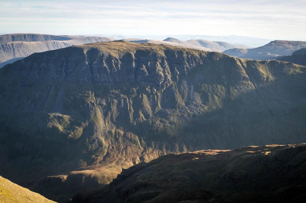 The man got stuck on St Sunday Crag. Photo: Bob Smith/grough