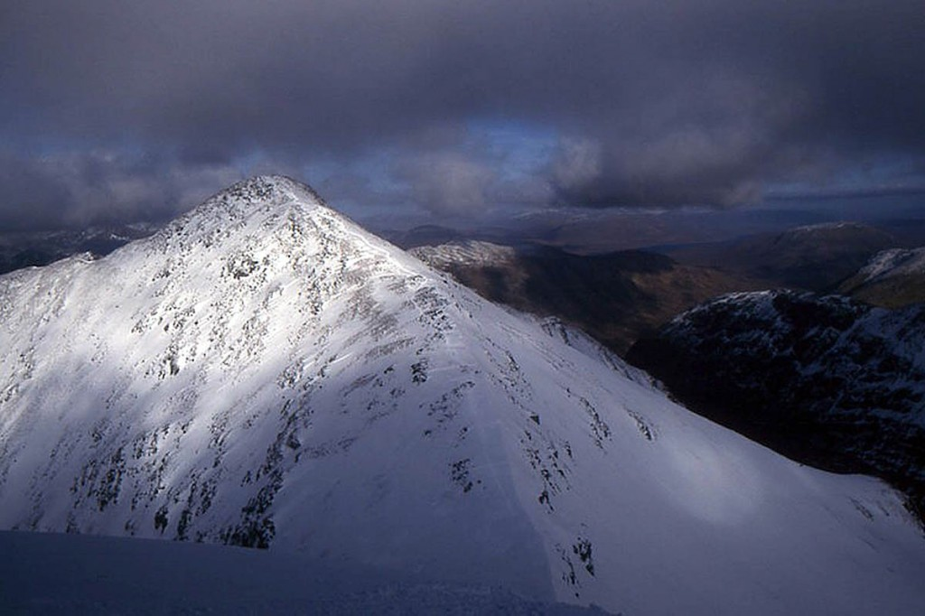Stob Coire nan Lochan. Photo: Richard Webb CC-BY_SA-2.0