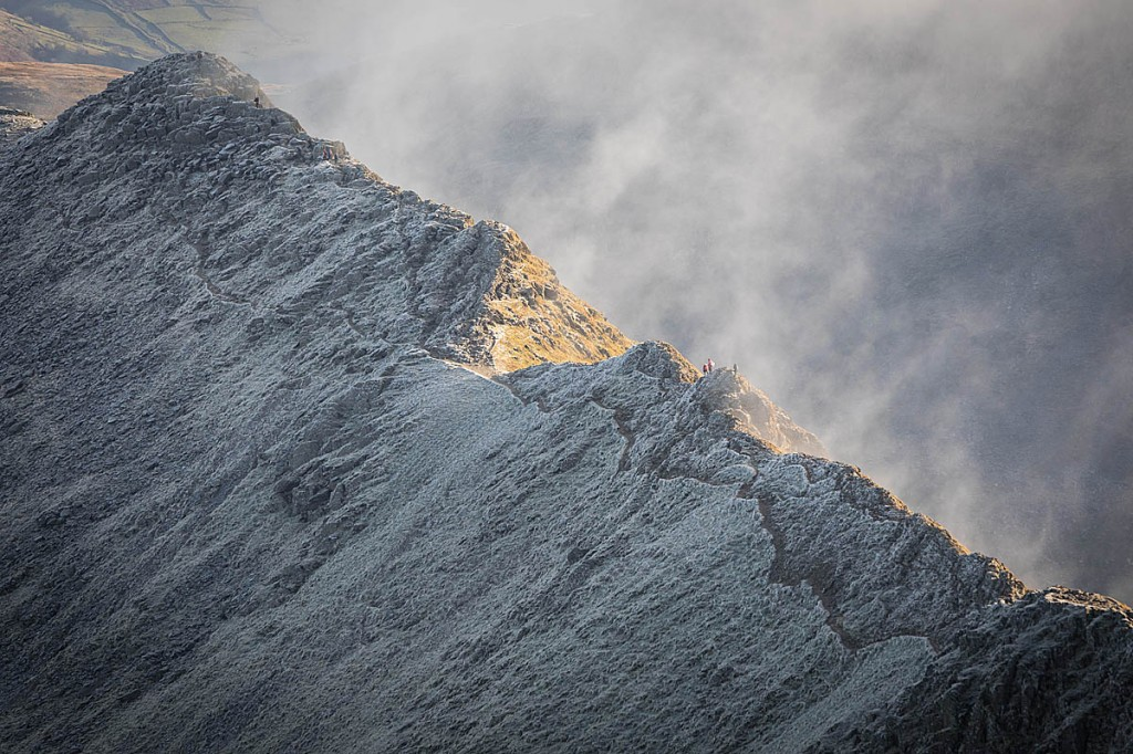 The man fell from Striding Edge. Photo: Bob Smith/grough