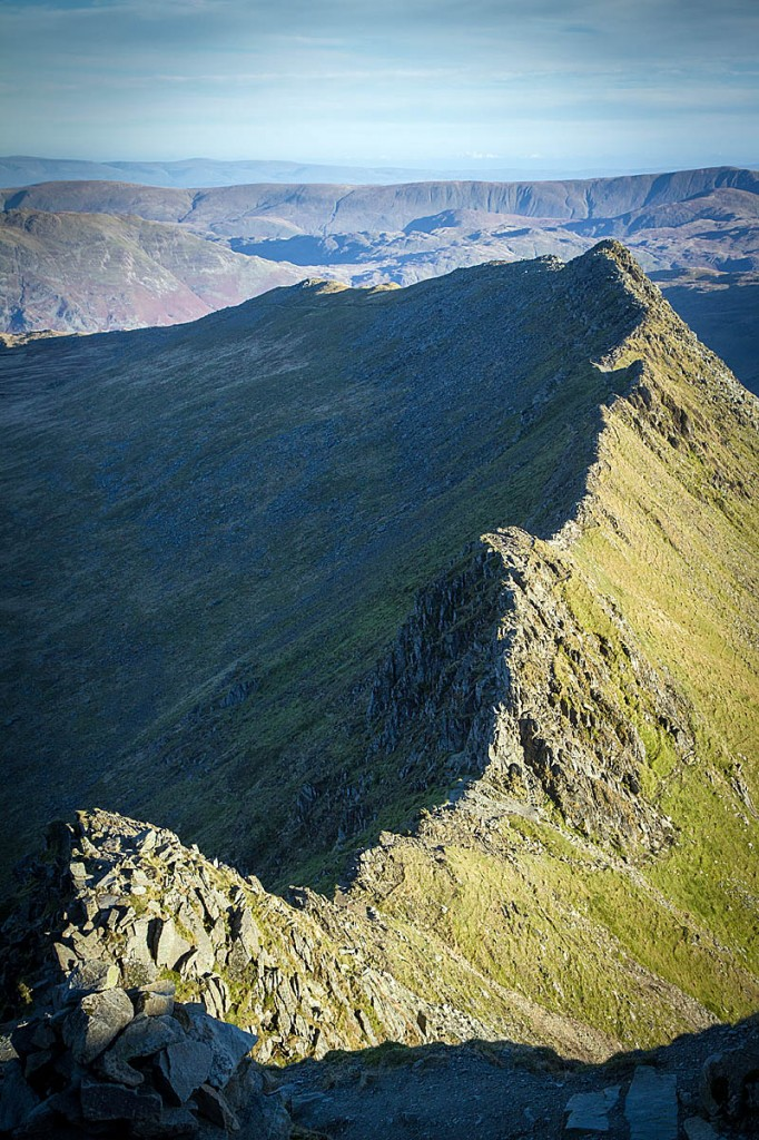 The man got into difficulties on Striding Edge. Photo: Bob Smith/grough