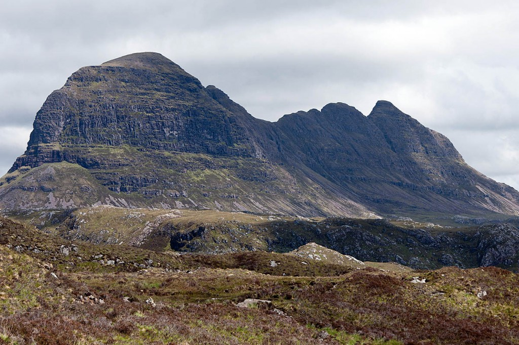 Suilven is owned by the Assynt Foundation. Photo: Paul Hermans CC-BY-SA-3.0